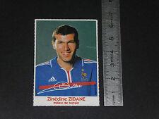 ZINEDINE ZIDANE JUVENTUS ZIZOU FRANCE FOOTBALL UEFA EURO 2000 DEDICACE IMPRIMEE