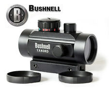 Bushnell 1x40RD Holographic Red/Blue 5 M.O.A Dot Sight Rifle Laser Scope FREE