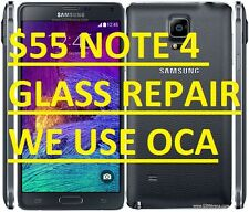 Samsung Galaxy Note 4 Broken Glass Screen Repair Mail-In Service