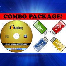 Software Mac CD per grafica, video e suono