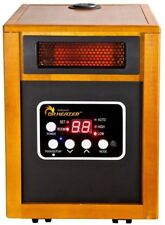 Infrared Portable Space Heater Forced Air W/ Humidifier Dual Heating System