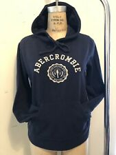 Abercrombie New York Women's Hoodie Small Navy Blue