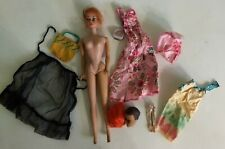 Vintage Color Magic Barbie doll & accessories Tlc Face is great
