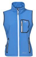 Trespass Elbrus Softshell Gilet Cornflower Blue Jacket Ladies UK XS  *REF141