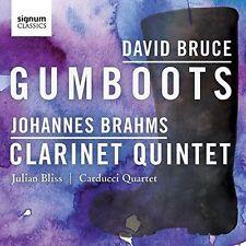 David Bruce: Gumboots - Johannes Brahms: Clarinet Quintet, New Music
