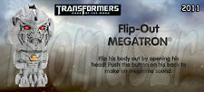 Flip-Out MEGATRON figure/toy TRANSFORMERS 3 TF3 movie BK Burger King (2011) NIOP