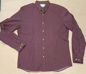 Brooksfield Mens Long Sleeve Collared Shirt size XL