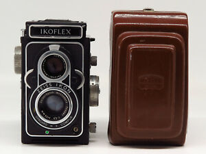 Zeiss Ikon Ikoflex IIa 855/16 w/Tessar 1:3.5 75mm - Case - Fine vintage cond.