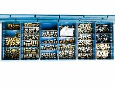 Bin of Fastenal & Parker Air Fittings, Valued over $4000.00