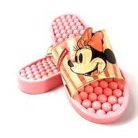 Lilfant Pink Disney Minnie Mouse Sandals Slip On Shoes Size Small 5.5-7.5 *