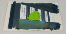 The Real Ghostbusters Animation Cel, Background & Cert of Auth Slimer #45