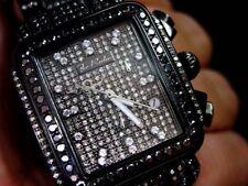 JOE RODEO MADISON WOMENS FULL BLACK COLOR DIAMOND WATCH 13.5CTS JRMD 34