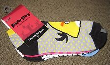 5 pack Angry Birds Ankle Socks Low Cut Socks BRAND NEW WITH TAGS