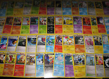 POKEMON NOIR & BLANC DESTINEES FUTURES (◕‿◕✿) LOT COMPLETE SERIE U/C 56 CARTES
