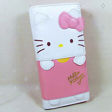 HelloKitty  Hasp  Wallet  Purse 2017  New Cute Pu Bow Pink  Long Size