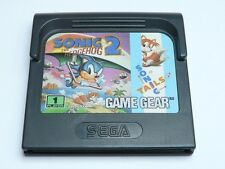 Sonic The Hedgehog 2 Sonic Tails Gamegear, 2 in 1 Cartridge, SEGA!