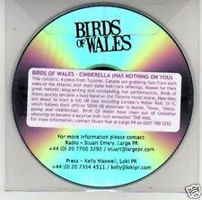 (B654) Birds of Wales, Cinderella - DJ CD