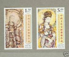 Macau Macao 2009 Art Culture Stamps -  Buddha