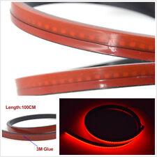 100cm Flexible Strips Car Rear Dynamic Streamer Brake Light LED Warning Lamp Bar