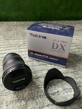 New listing Tokina 11-16mm f2.8 At-X Pro Dx for Canon plus Uv Filter