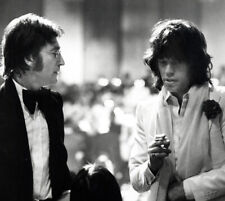 "John Lennon and Mick Jagger UNSIGNED 10"" x 8"" photo - K2871 - Music legends!!!"