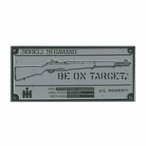 International Harvester M1 Garand Rifle Sign Case IH Logo IHG-652092