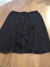 Armani Collezioni made in Italy 100% Silk Flowing skirt size 8