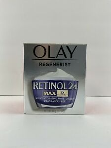 OUT-OF-BOX-NEW-Olay Regenerist Retinol 24 Max 2x Vitamin B3+ Night Moisturizer
