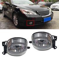 2x Left Right Front Fog Light Lamp No Bulb Fit for Lexus ES350 2007-2009 Acc