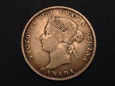 - Canada 1871 25 Cents Victoria - sale priced!
