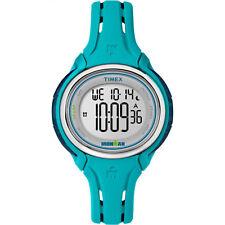 Timex Women's Ironman Sleek 50 Lap Stopwatch | Blue | Sport Watch TW5K90600