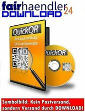 QR CODE GENERATOR + E-LIZENZ SOFTWARE ERSTELLT CODES WERBUNG MARKETING GELD CASH