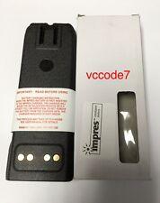 MOTOROLA IMPRES LI-ION HIGH CAP BATTERY NNTN6034A XTS4250 XTS3000 XTS5000