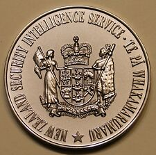 New Zealand Security Intelligence Service Counter-Intelligence Challenge Coin