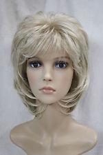 Haute qualité,blonde court Bouclé femme santé cosplay cheveux Halloween perruque