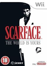 Scarface: The World Is Yours (Wii) Nintendo Wii PAL GOOD CONDITION