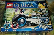 LEGO Legends of Chima Eglor's Twin Bike Eglor Razcal 70007 [New, Sealed] 223 pcs