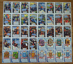 Lego® Nexo Knights™ Trading Card Game Karten aussuchen Sammelkarten Nr 141 - 180