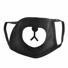 Unisex Black Bear Winter Mouth Anti-Dust Flu Face Mask Surgical Respirator Mask