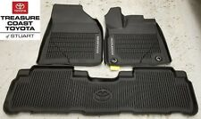 NEW OEM TOYOTA HIGHLANDER 2014-2019  ALL WEATHER FLOOR LINER 3-PC SET