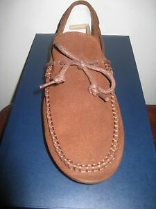 COLE HAAN MENS GRANT LTE 10 D Brown Suede/ Gum New In Box