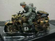 WOW EXTREMELY RARE Zündapp KS 750 Combo Normandy 1944 06516 + 2 fig 1:10 Schuco