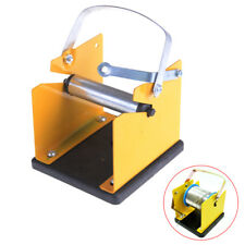 1PCS Metal Solder Wire Stand Holder Support Yellow Black  WE