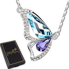 Geschenk Halskette Schmetterling, Damen, Silber, im Etui, Schmuckhandel Haak®