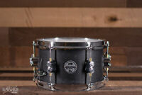 """PDP 10"""" x 6"""" Maple Snare Drum, Black Wax Finish"""