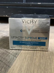 VICHY Liftactiv Supreme Night Anti-Wrinkle and Firming Care - 1.69 FL. OZ