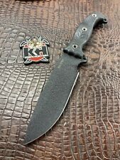 Busse Combat NFNO Black On Black G10 Unused INFI Survival Knife