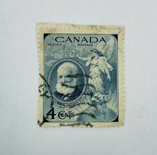 1947 Canada stamp 4 Cents Alexander Graham Bell