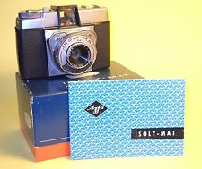 Agfa Isoly-Mat (6x6cm) w/Box and Instructions in extremely good condition!