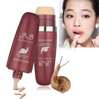 Perfect Cover Blemish Balm Moisturizing Snail BB Cream Beauty Foundation 40ml